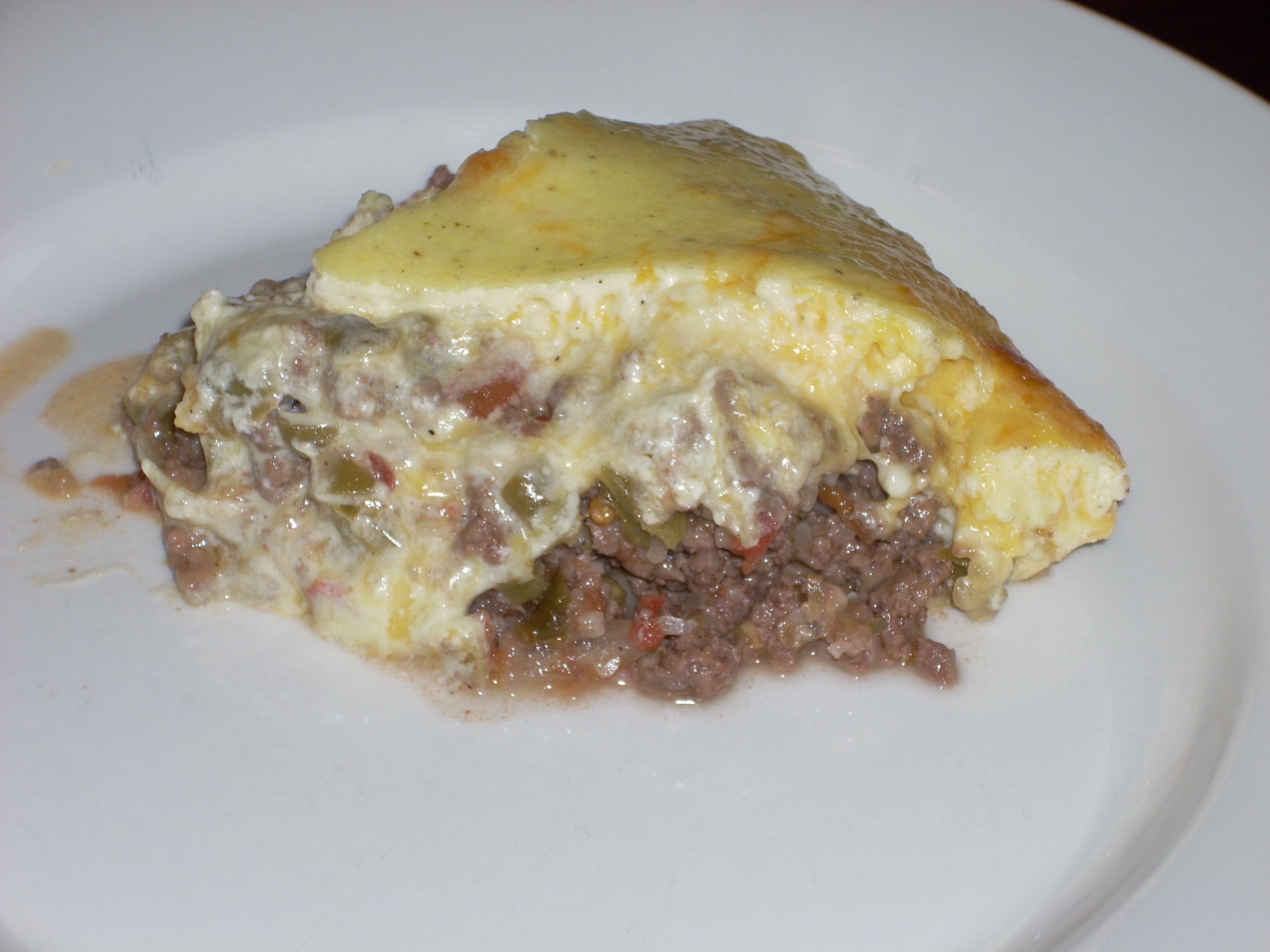 Hamburger Pie – with a low-carb twist